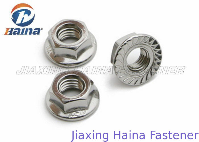 Plain Color A4 70 Stainless Steel Nuts M10 A2 / A4 Grade For Constructing