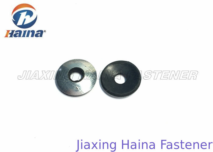 EPDM Rubber Flat Washers Galvanized Black Color Steel For Self Drilling Screw