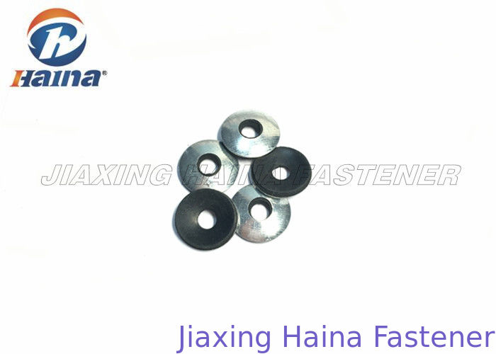 EPDM Rubber Flat Washers Galvanized Black Color Steel For Self ...