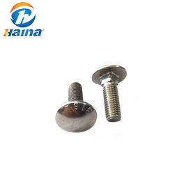 China Stainless Steel A2-70 A4-80 SS316 Mushroom Head Carriage Bolt factory