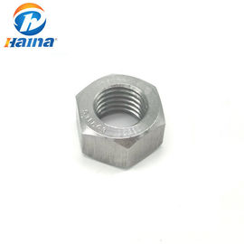 A2 -70 A4 -80 Stainless Steel Nuts , SS316 316L SS304 Hex Head Nuts DIN934