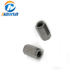 DIN6344 Stainless Steel Nuts A2-70 A4-80 Hexagon Coupling Nuts SS304 SS316 316L
