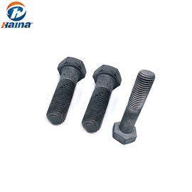DIN 933 GB5783 Low Profile Hex Head Bolts , 10.9 Hex Bolt Hot DIP Galvanzing