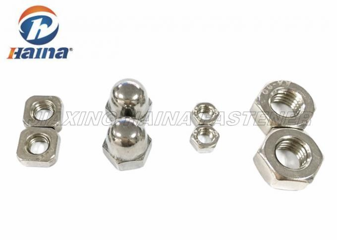 Hex Head Stainless Steel Nuts M2 - M120 For Conjunction ISO4032 Approved