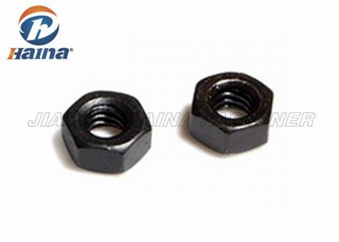 Black Surface Finished Hex Head Nuts Carbon Steel 8.8 Grade M16 Diameter